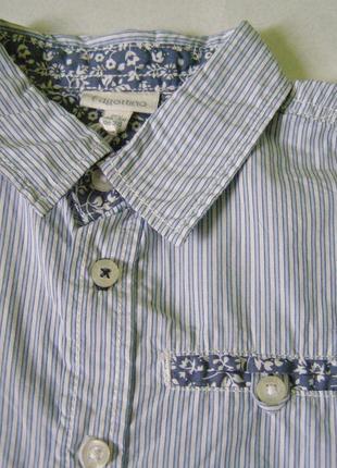 Модная итальянская рубашка 2- 3 года