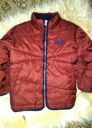 Демисезонная куртка h&m на 5 лет