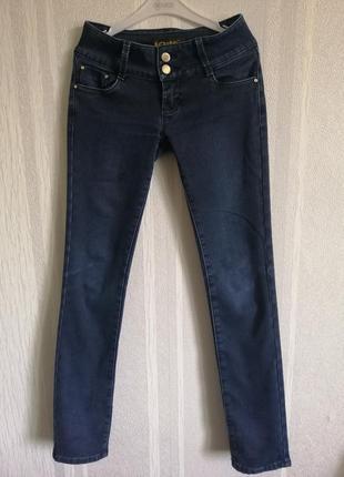Прямые тёплые джинсы