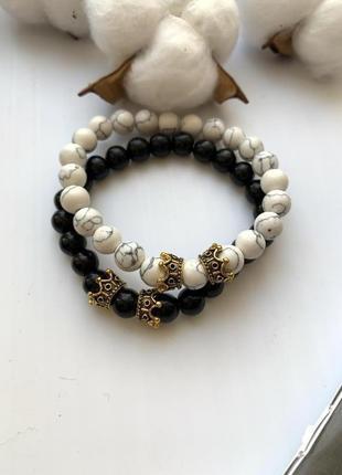 Набор браслетов, парные браслеты, браслеты на женскую руку, браслеты дружбы