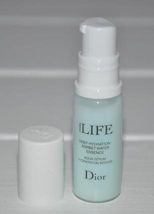 Сыворотка сорбет 3-в-1 christian dior hydra life deep hydration sorbet water essence