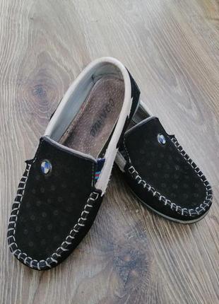 Замшевые туфельки /туфли /макасины