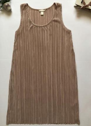 Супер стильные платье миди в плиссировку от h&m
