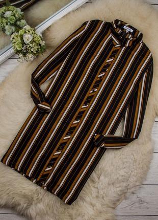 Очень стильное платье рубашка от glamorous рр 10 наш 44