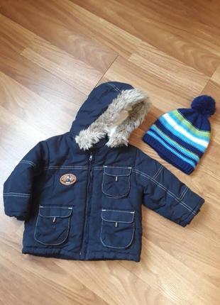 Куртка зимова disney baby