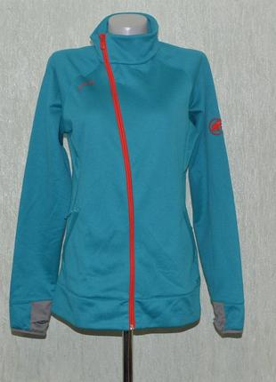 Флисовая кофта, флис mammut get away jacket women 1010-15880 outdoor