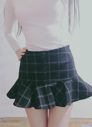 Корейская мини-юбка