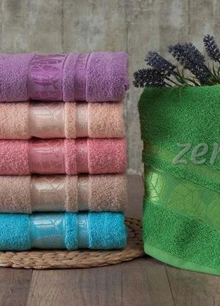 """Набор махровых полотенец """"zeron"""" 6 шт. 70х140 см"""