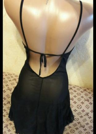 Пеньюар ночнушка ночная рубашка nbb lingerie с качественной вышивкой.турция.