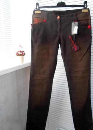 Штаны, брюки с потертостями