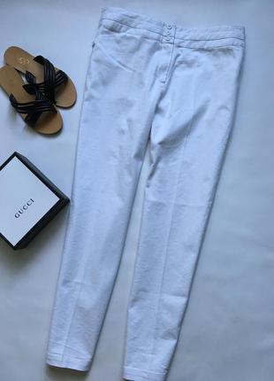 Летние светлые брюки со стрелками большого размера