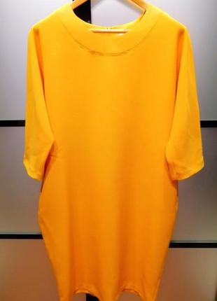 Платье белорусское трикотаж прямого кроя новое
