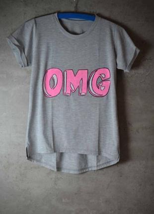 Женская футболка с принтом ручной работы