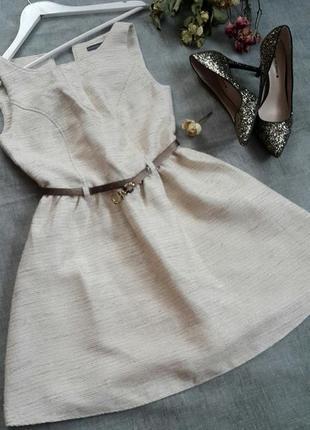 Пышное платье в блестинку