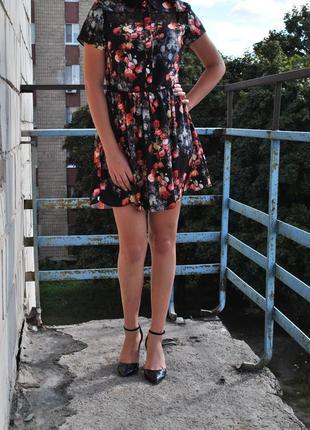 Платье короткое легкое летнее oasis