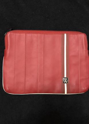 Чехол сумка для ноутбука планшета натуральная кожа the le royals 13