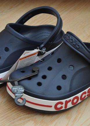 Crocs crocband clog navy m9(42) сабо оригинал