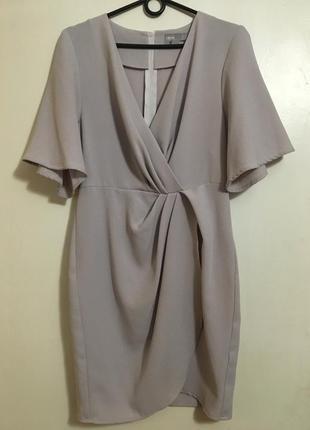 Бомбезное платье на запах от asos