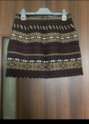 🔥только сутки такая цена🔥юбка с вышивкой zara5 фото
