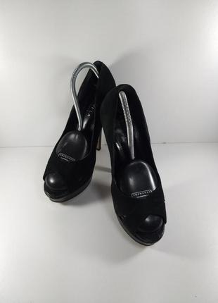 Туфли с открытым носком5 фото