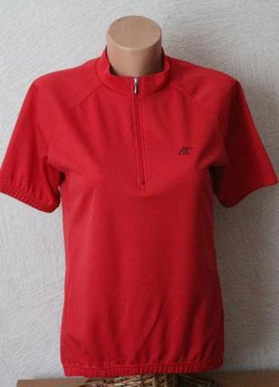 Black bear- спорт. красная футболка