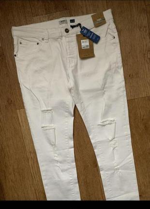 Sale / новые стильные рваные штаны skinny ovs/джинсы качественные