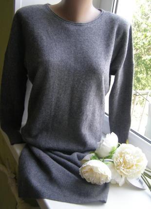 Massimo dutti платье  шерсть-кашемир s размер.