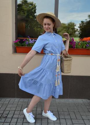 Платье  хлопок тренд  италия
