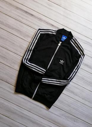 Черный бомбер,олимпийка adidas