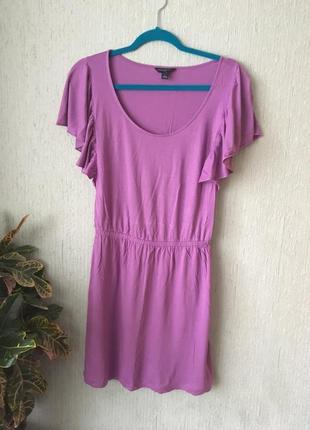 Фиолетовое платье banana republic