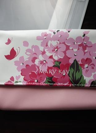 Летняя сумочка-клатч, исскуственная кожа мери кей, mary kay
