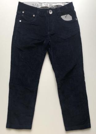 Zara качественные мягусенькие штаны вельветы 104-110-116-122