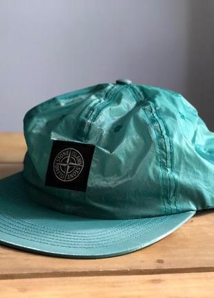 Кепка supreme stone island silk lite hat cap black nwt оригинал