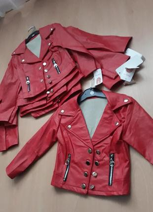 Куртка косуха весна-лето на девочку 3-4 года италия