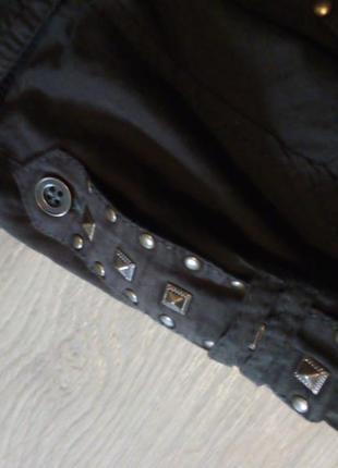 Брендовая рубашка туника хаки4 фото