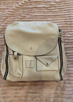 Кожаная сумка-рюкзак patrizia pepe