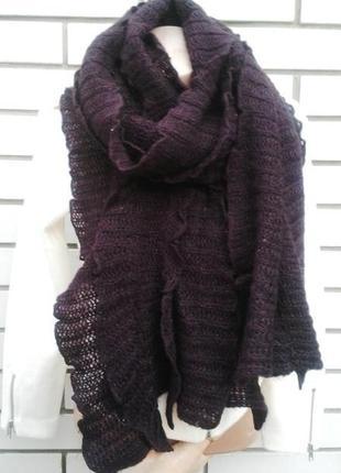 Вязаный шарф reserved