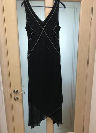 Нарядное платье для пышной леди