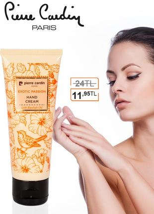 Pierre cardin hand cream 75 ml - exotic passion крем для рук