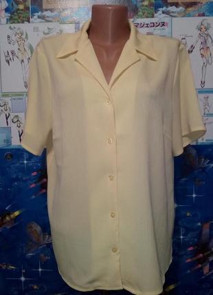 Брендовая легкая летняя блуза р.16