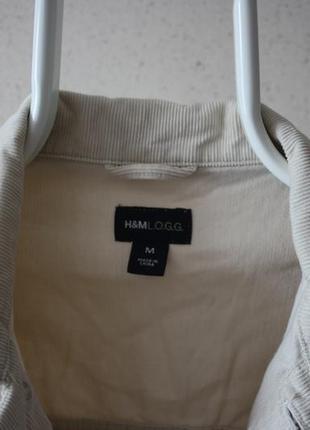 Вельветово куртка h&m