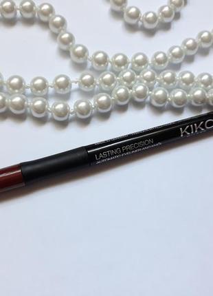 Механический стойкий карандаш для глаз kiko milano
