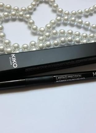 Механический стойкий карандаш для глаз в коробке kiko milano