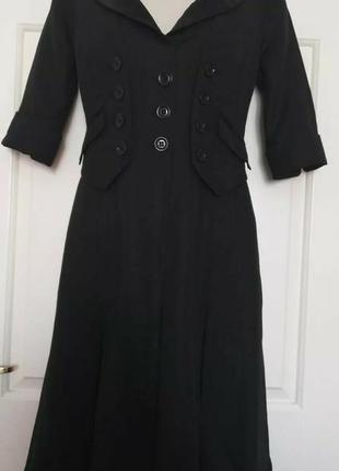 Karen millen черное элегантное платье
