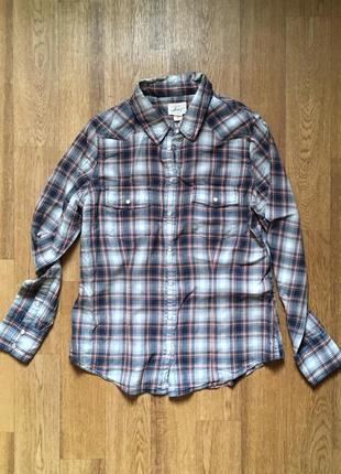 Рубашка в клетку levi's