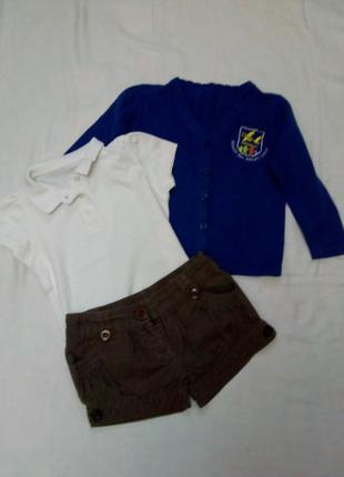 Пакет одежды для девочки на 3- 5 лет1 фото