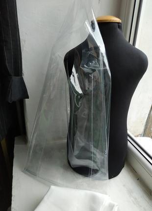 Виниловая сумка. сумка из винила. прозрачная сумка