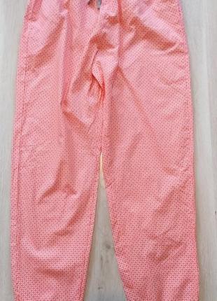 Пижамные штаны р.40 42 м esmara германия штаны для дома с орнаментом