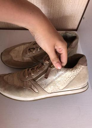 Кроссовки кожа 26,5 см