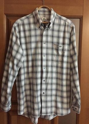 """Классная мужская рубашка """"lacoste """"."""
